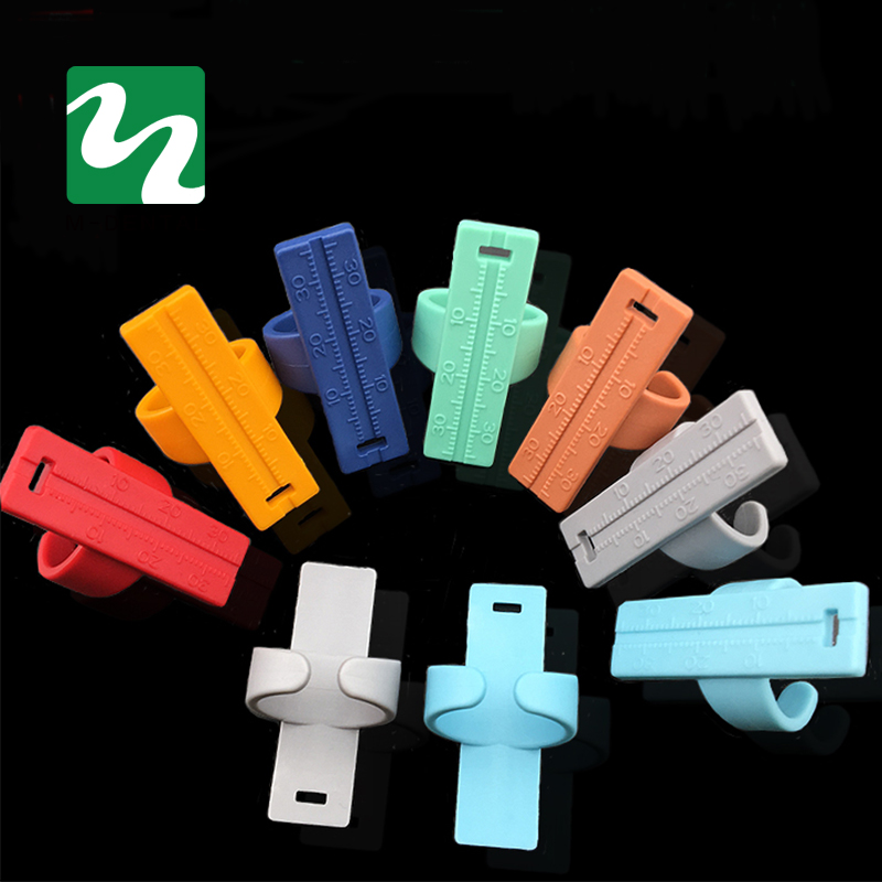 Colorful Dental Endo Finger Rulers Span font b Measure b font Scale Endodontic Dental font b