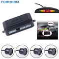 Universal Car LED Parking Sensor With 4 Sensors 12V Cars Sensor De Estacionamento Reverse Assistance Backup Radar Monitor System
