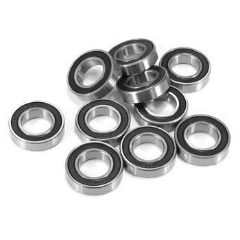Brand New 10pcs 6802ZZ 6802RS 15mmx24mmx5mm Deep Groove Metal Rubber Shielded Sealed Ball Bearings image