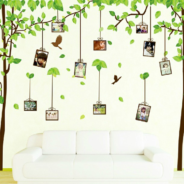 DIY Wall Stickers The Forest Of Memory Photos Design Decal Mural Wall  Sticker Home Office Living