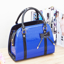 Fashion Women's bag shoulder bags 2016 new bowknot tote messenger bags ladies leather handbag famous brand female-bag cross body