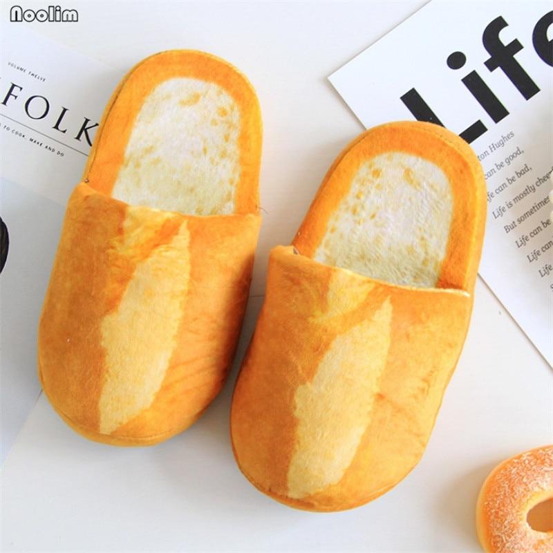 Женские Мультяшные тапочки для пар, осенне-зимние хлопковые тапочки, креативная домашняя обувь для пола, теплая мягкая домашняя обувь для с...