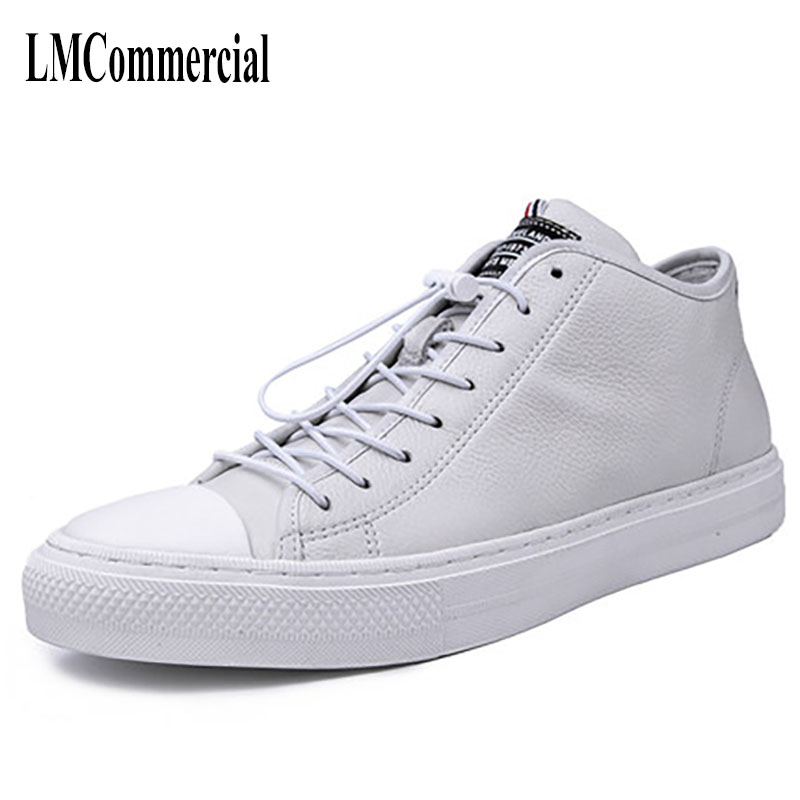 New winter shoes men high shoes leather boots white cowhide cashmere breathable sneaker fashion comfortable ,handmade 2017 new autumn winter british retro zipper leather shoes breathable sneaker fashion boots men casual shoes handmade