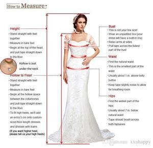 Image 2 - יפה תחרה חתונה שמלות Seuqins אפליקציות כדור שמלה כבוי כתף אשליה ארוך שרוול כלה שמלות 2019