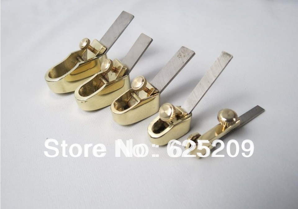 5pcs various convex bottom Mini brass planes,violin and viola making tool woodworkingluthier tools mini brass maple blackwood convex bottom planes 3 1 8 violin making woodworking tool luthiertools craft plane free shipping