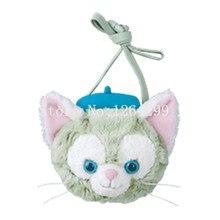 Новая мода Даффи gelatoni Cat Обувь для девочек детский сад мини плюшевые Курьерские сумки детей мягкие сумка для детей