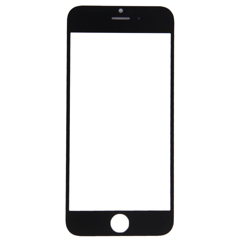 100% Quality Front LCD Touch Screen Outer Glass Lens Replacement for iPhone 6 Front Glass Repair Replacement image