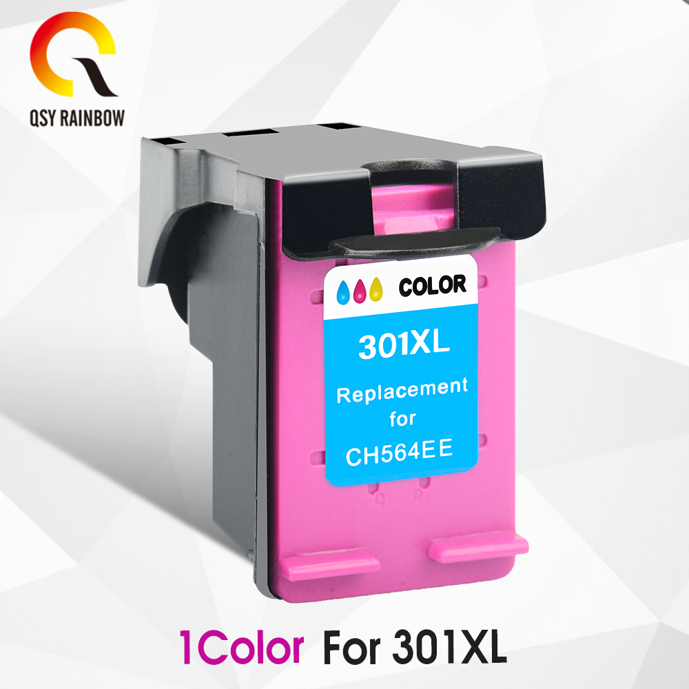 CMYK SUPPLIES comptaible ink cartridge replacement for HP 301xl Deskjet D1000 1050 2000 2050 2510 3000 3050A 3052A 3054A 3540 2pcs ink cartridge compatible for hp 122 xl for hp deskjet 1000 1050 2000 2050 2050s 3000 3050a 3052a 3054 1010 1510 2540