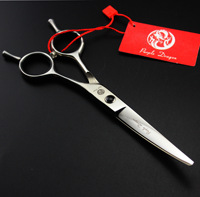 Professional 6.0 inch Animal dog Pet Hairdressing Curved shears Barber