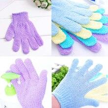 Bathroom Set Body Bath Gloves Shower Back Scrub Bath Glove Scrubber Exfoliating Body Sponge For Showering Wash Skin Spa Brush