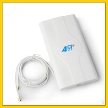 Antena interna do mimo do ganho alto 88dbi 4g lte com conector dobro do cabo de 2m sma macho para o roteador de huawei zte 3g 4g