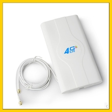 Indoor high gain 88dbi  4G LTE MIMO Antenna with 2m cable double Connector SMA male for huawei ZTe 3g 4g router