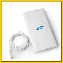 W pomieszczeniach o wysokiej mocy 88dbi antena 4G LTE MIMO z kablem o długości 2m podwójne złącze SMA męskie dla huawei ZTe 3g 4g router