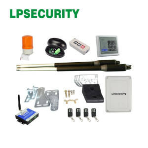 LPSECURITY Actuator Automatic Swing Gate Opener button gsm