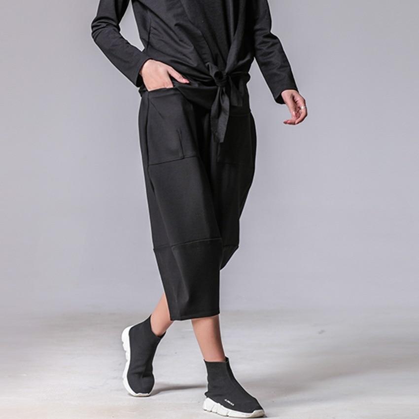 Harem Puntos Flojos Primavera 7 Pantalones Bolso Grande Flojo 2018 Nueva UYFzxz
