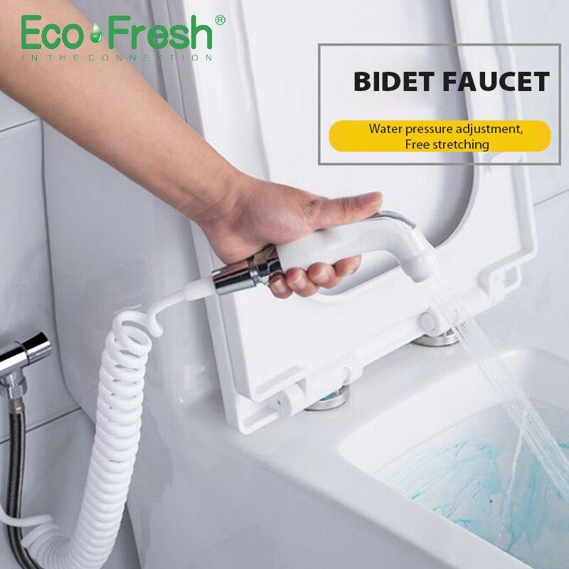 Wc Handheld bidé pulverizador Mão Kit conjunto Bidé torneira para Banheiro mão chuveiro pulverizador auto limpeza