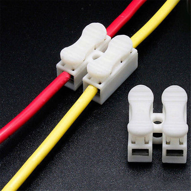 20 30pcs self locking electrical cable connectors quick splice lock rh aliexpress com domestic electrical wire connectors home depot electrical wire connectors
