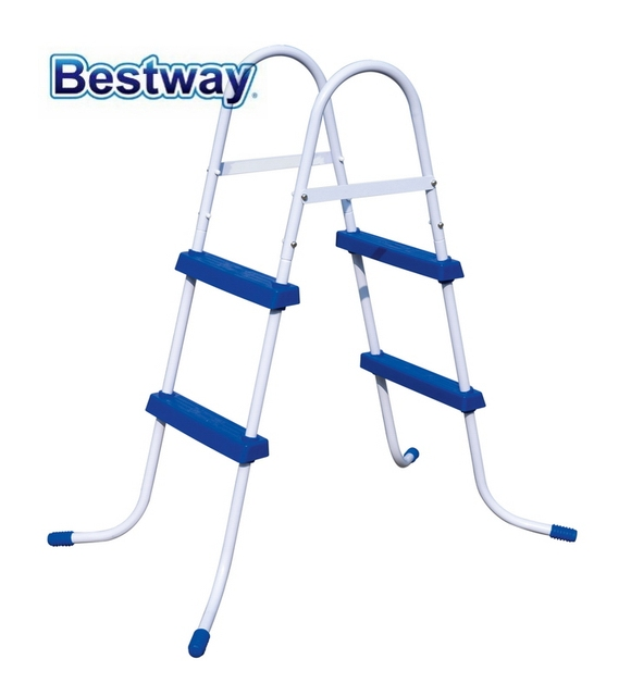 58430 Bestway Specially Designed Ladder for Swimming Pool max Height 84cm Laminated Swimming Pool Ladder Swimming Pool Accessary