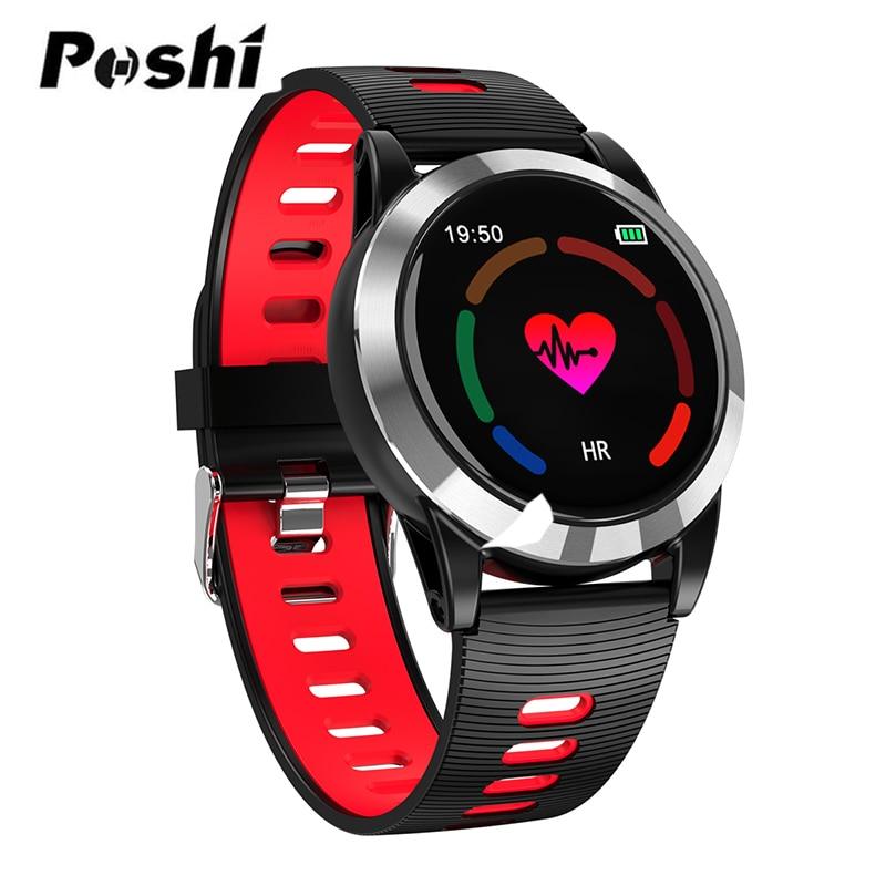 Women Bluetooth Smart Bracelet Color Screen Smartband Heart Rate Monitor Blood Pressure Measurement Fitness Tracker Smart
