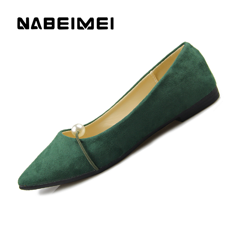 Flat shoes women flock dress slip-on pointed toe loafers shoes 2017 superstar shallow rubber summer shoes zapatillas mujer sweet women high quality bowtie pointed toe flock flat shoes women casual summer ladies slip on casual zapatos mujer bt123
