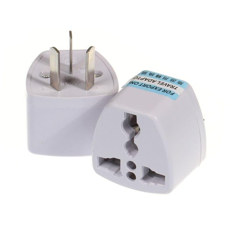 bilder für 200 stücke Universal-US EU UK AU Stecker Adapter Konverter Amerika Europäischen Nach Australien AC Travel Power Steckdosen