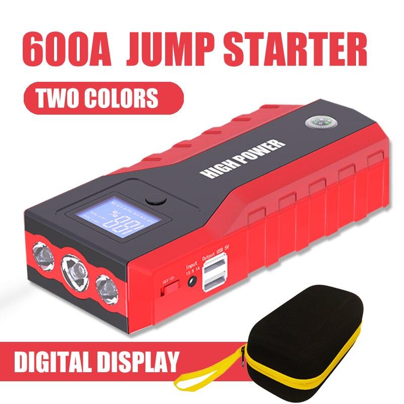 Super capacité voiture batterie externe dispositif de démarrage Portable 89800mAh 12V 600A saut démarreur voiture chargeur pour voiture batterie Booster Buster