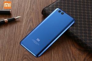 Image 5 - Оригинальный стеклянный чехол для Xiaomi 6 Mi 6 Mi6 MCE16 задняя крышка для батареи телефона задняя крышка для телефона