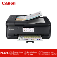 Canon Pixma TR8550-Impresora 4 en 1 (WiFi, Canon Print, Bluetooth, Pantalla tactil de 10,8 см, Doble alimentador de Papel) Негро