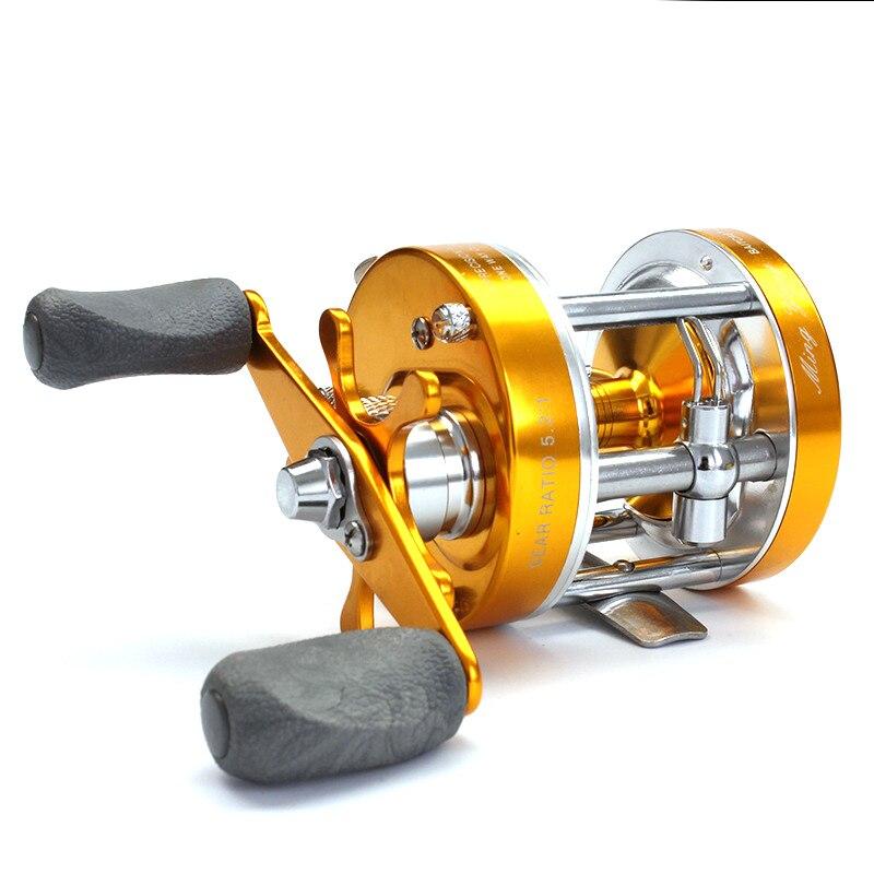 1Pcs 40# Fishing Reel Aluminum alloy Ratio:4.2:1 Saltwater Bait casting Reel Full Metal Carp Drum Wheel Speed Pesca Right/Left