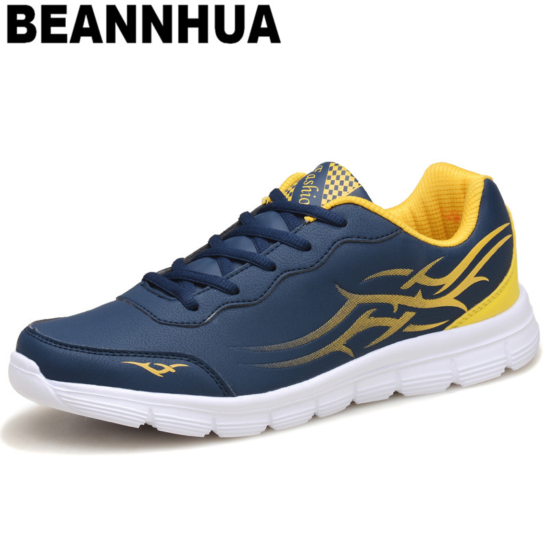 BEANNHUA new arrival sport shos men s leather sport shoes winter sneakers comfortable shoes for men