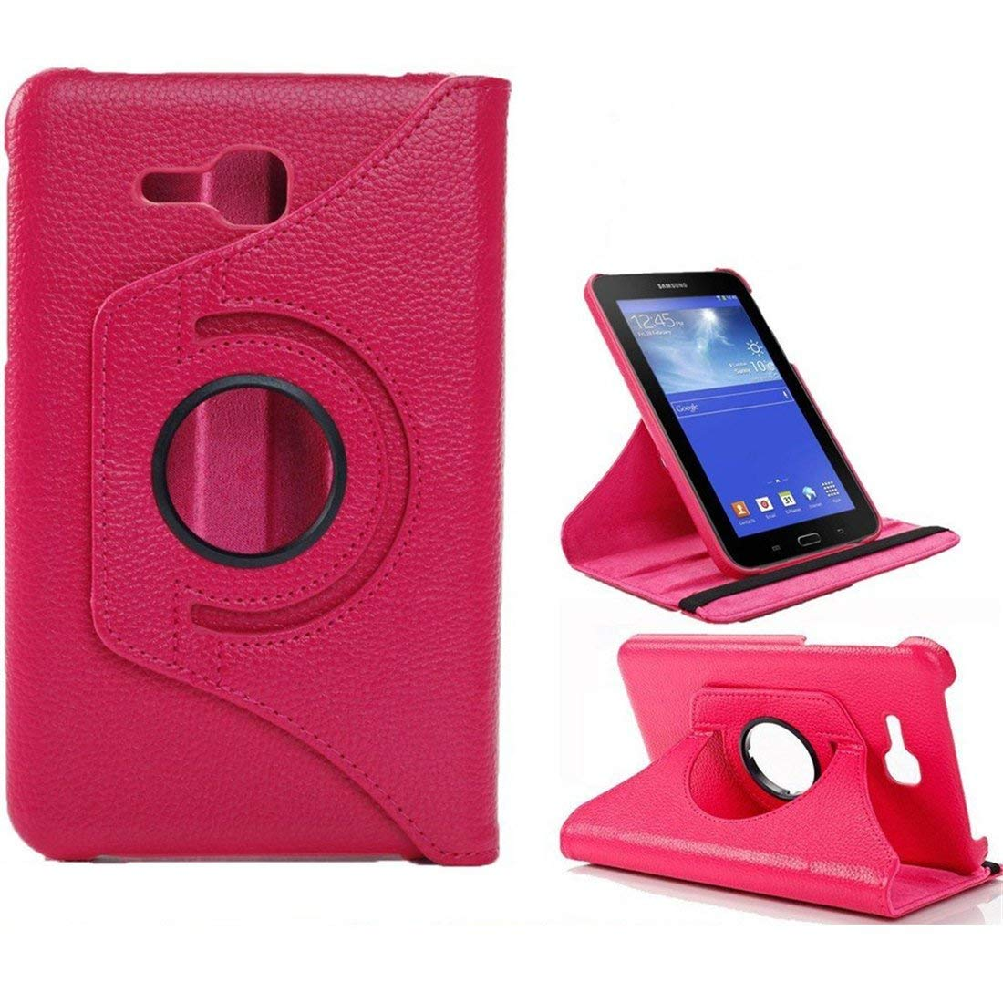 360 Rotation Flip Holder Funda For Galaxy Tab 3 7