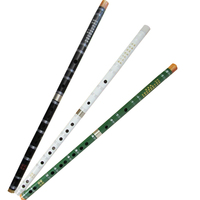Natural Bitter Bamboo Flute National Woodwind Musical Instrument Professional Binodal Chinese Dizi 3 Colors Can Choose