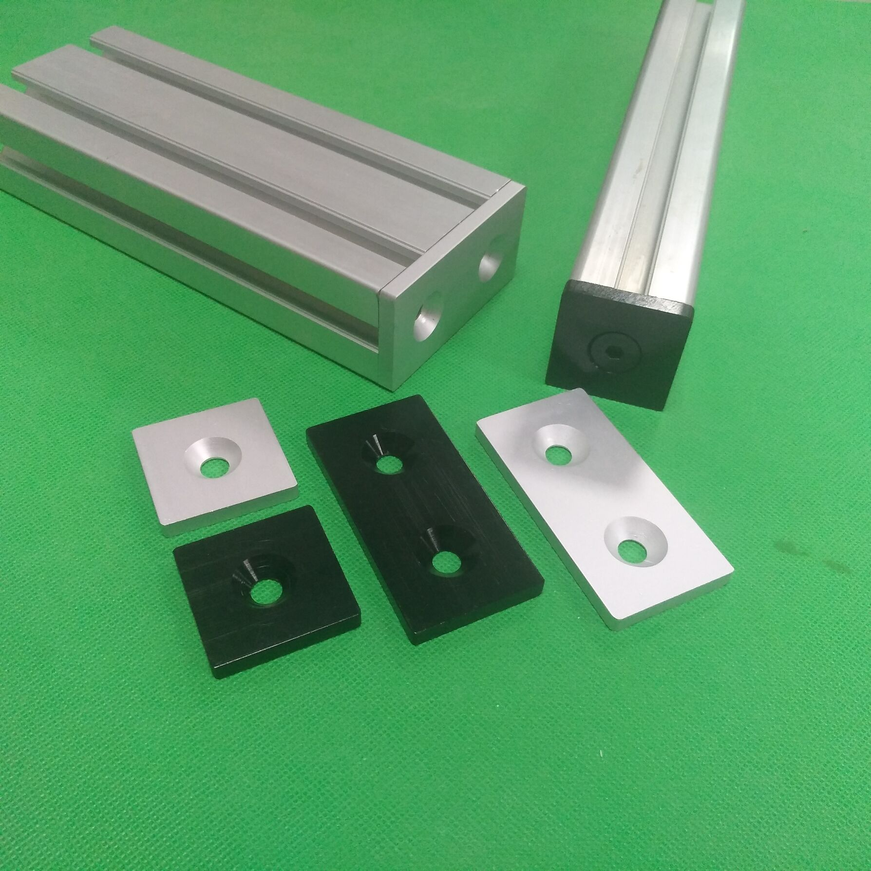 2040 European Standard Profile Fittings Aluminum Profile Cover End Cover Plate 5mmx20mmx40mm 6063-T5