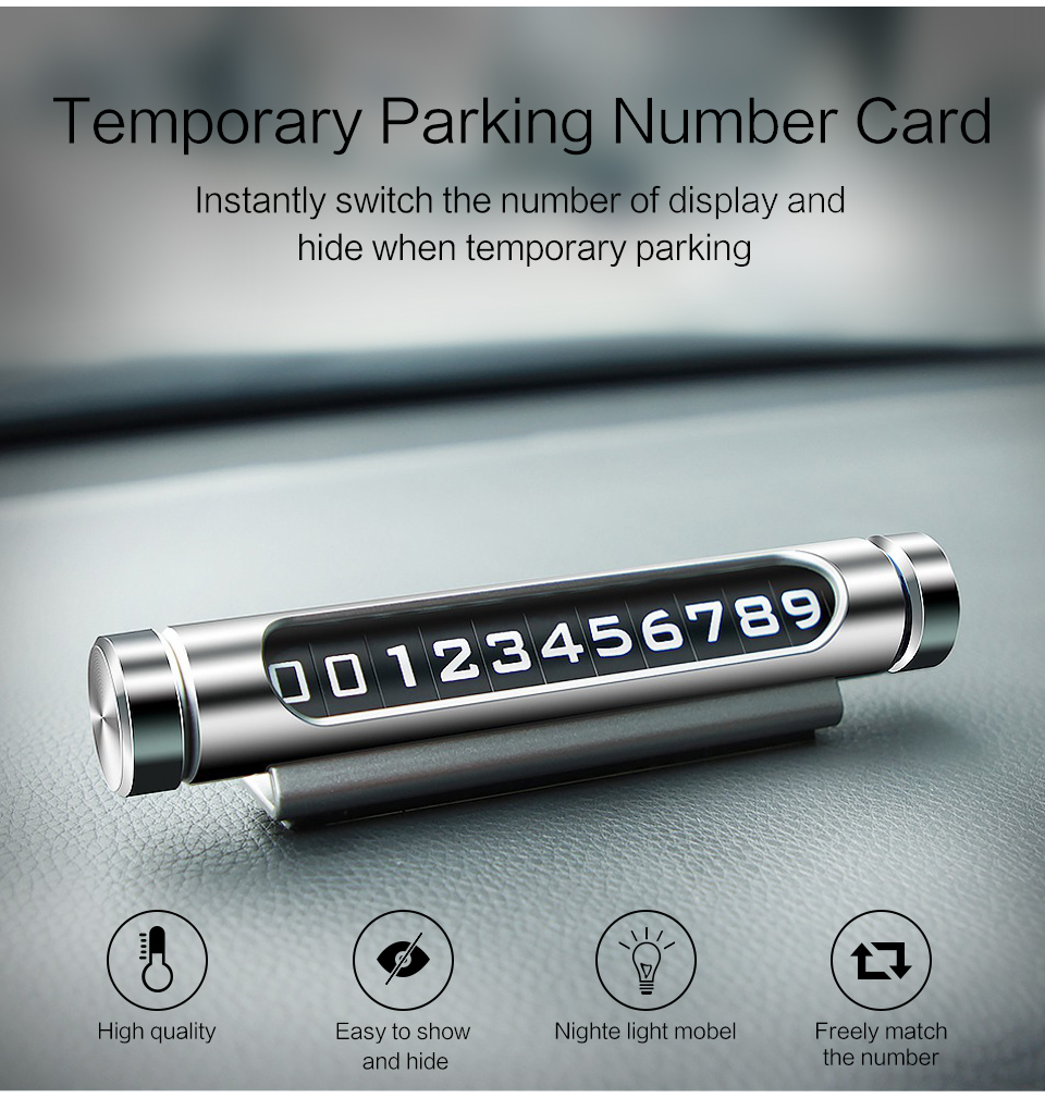 geekoplanet.com - Telephone Number Card with Night Light