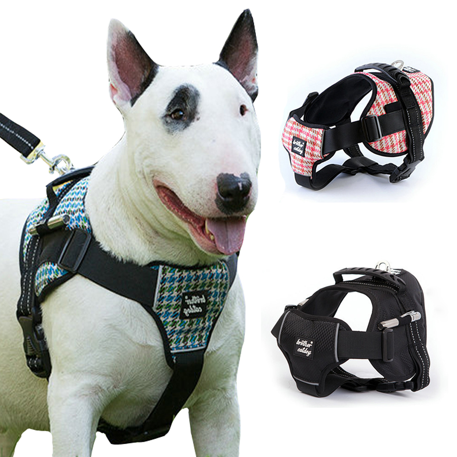 Dog harness collar pet vest type traction rope medium large dog dog harness collar pet vest type traction rope medium large dog leash walking tool dog collar vest pet vest in harnesses from home garden on jeuxipadfo Gallery