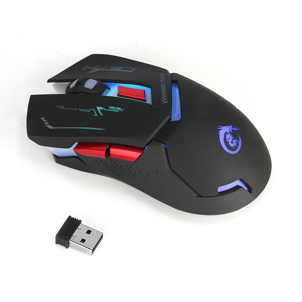 Best Price 2.4G Adjustable 2400 DPI Wireless Optical Mouse Mice For Computer PC Laptop