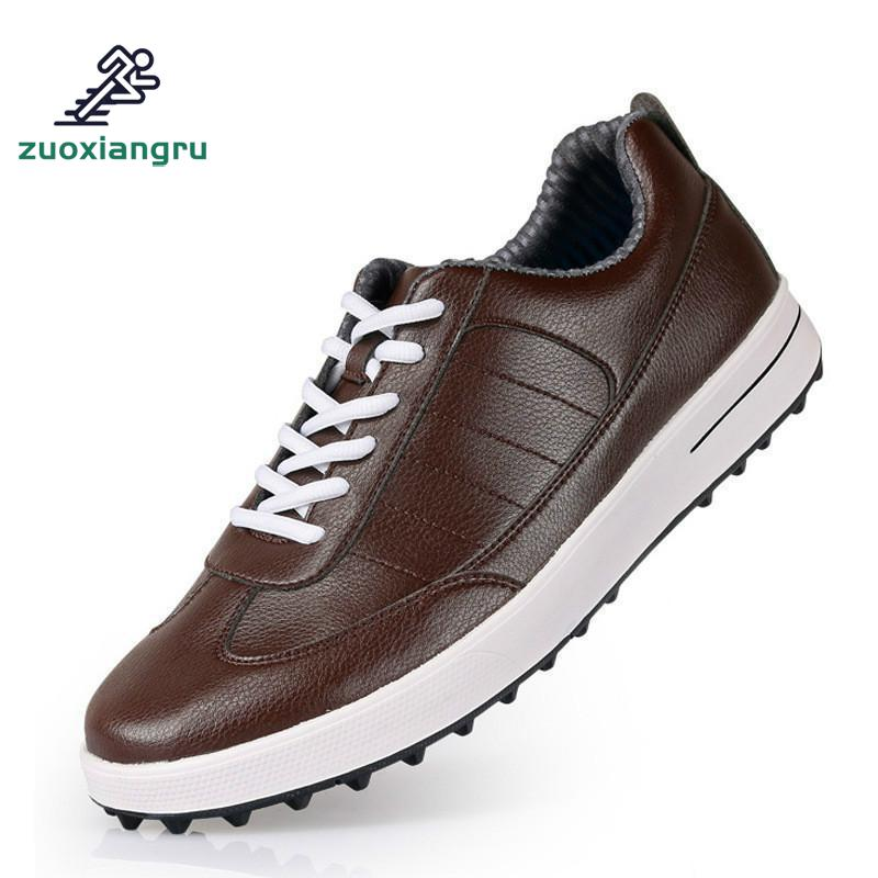 Pgm Authentic Golf Shoes Men Waterproof Anti-skid High Quality Male Sport Sneakers Breathable Shoes Chaussures Golf Shoes new dc 12v 13w electromagnet electric lifting magnet solenoid lift holding 80kg ele p65 30