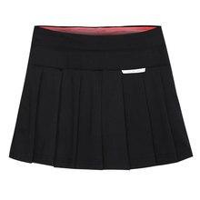 Новая Спортивная юбка-шорты Женская юбка теннисные юбки Runing поддельные 2 шт бадминтон плиссированная юбка защита вашей конфиденциальности