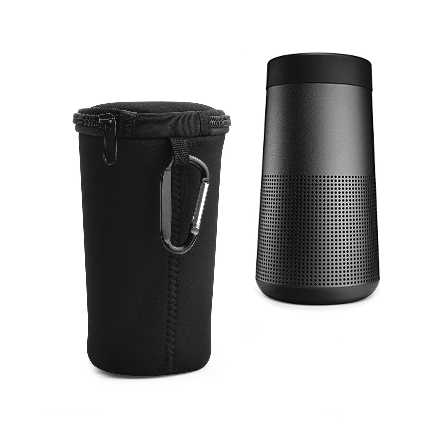 New for BOSE Soundlink Revolve Bluetooth Speaker Protective Case Cover Soft Shockproof Outdoor Climbing Protective Sleeve Bag image