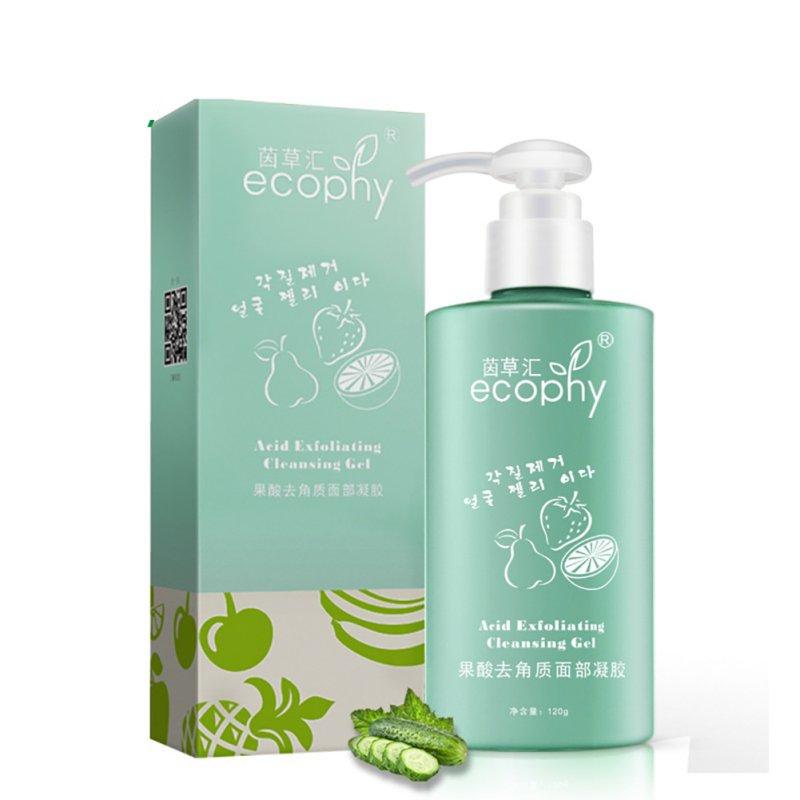 Exfoliante de Gel exfoliante de ácido facial removedor de clavel profundo limpiador facial exfoliantes faciales