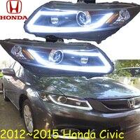 Civi Headlight 2012 2015 LHD RHD Need Add 200USD Free Ship Civi Daytime Light 2ps Se