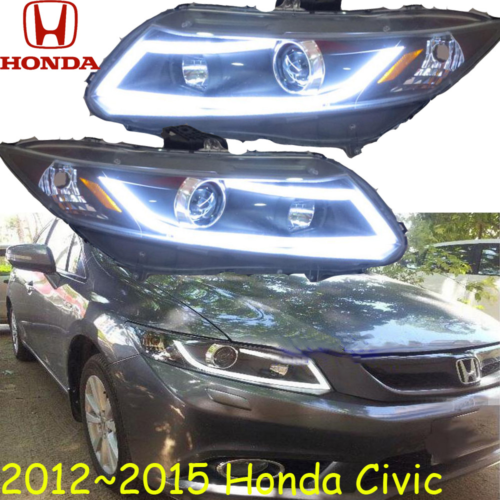 Civi headlight,2012~2015 (LHD,RHD need add 200USD),Free ship! Civi daytime light,CR-Z,crosstour,city,Civi
