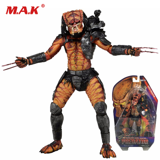 "7""PREDATOR series 12 VIPER PREDATOR hunter Alien action figure model collection for children gifts or collective"
