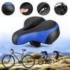 2017 Leather Mountain Bike Bicycle Saddle Seat Soft Silicone With Reflective Sticker MTB Road Bike Cushion