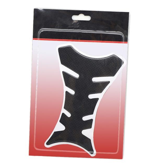 Autocollant de protection pour Yamaha | En Fiber de carbone, pour réservoir, tapis de protection, pour Yamaha, HONDA CBR Suzuki GSXR Z750 Z900 Z1000 KTM DUKE, 1 pièce