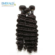 Bliss Hair Deep Wave Brazilian Hair Weave Human Hair Bundles 210 gram Deals 3 Bundles 100% Remy Hair Extensions(China)