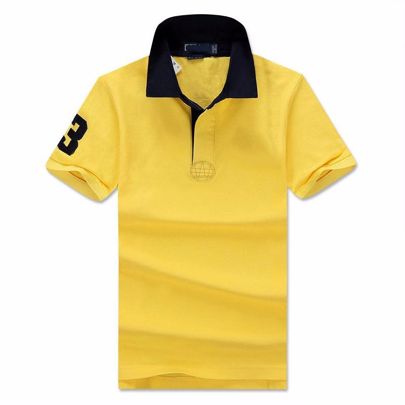 Aliexpress.com  Buy 2016 New Solid Polo Shirt Men Classic Slim camisa polo Short sleeve mens polo shirt brands polo ralphmen horse from Reliable polo shirt polo suppliers on Mystery Costumes(5)