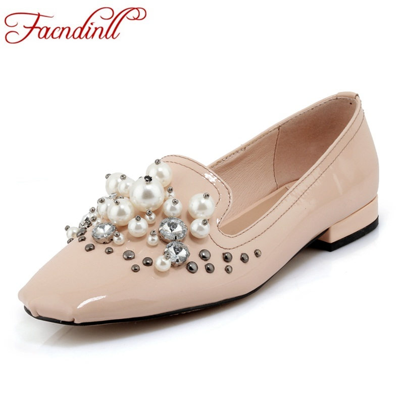 FACNDINLL high heels pumps women shoes new fashion genuine leather low heels slip-on shoes woman dress party casual shoes pumps artmu women high heels shoes two kinds of wear methods shoes female handmade leather shoes women pumps slip on shoes