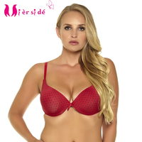2015 Hot Sexy Bra White And Red Color 34 36 38 B C D Push Up