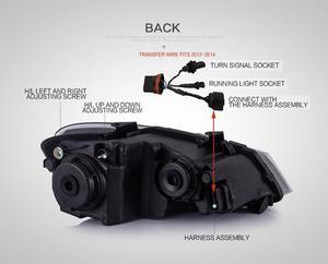 Image 3 - Luz para parachoques delantero de Polo luz LED trasera para lente de polo DRL, haz doble HID de xenón, 2011, 2012, 2013, 2014, 2015, 2016